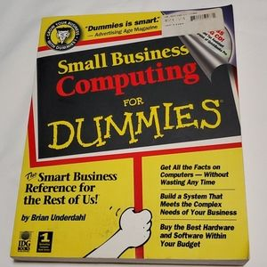 Small Business Computing for Dummies Book